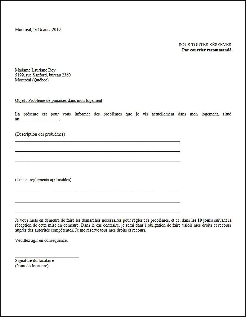 Entente De Resiliation De Bail Regroupement Des Comites Logement Et Associations De Locataires Du Quebec